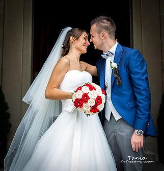 Wedding huwelijk mariage Tania De Decker