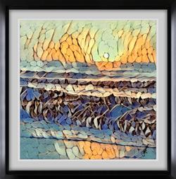 Sunset Waves sm