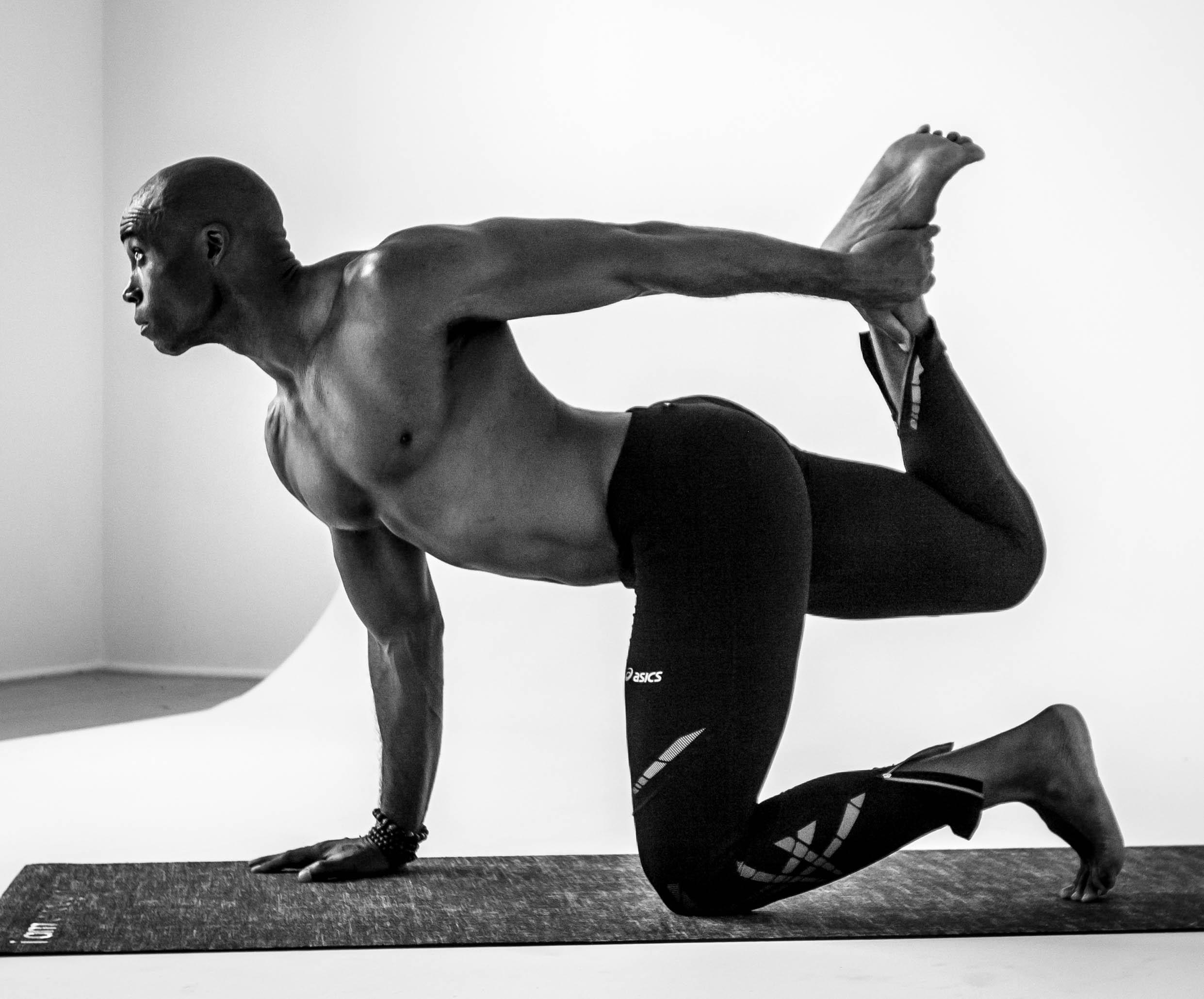 yoga athlete fitness keith mitchell
