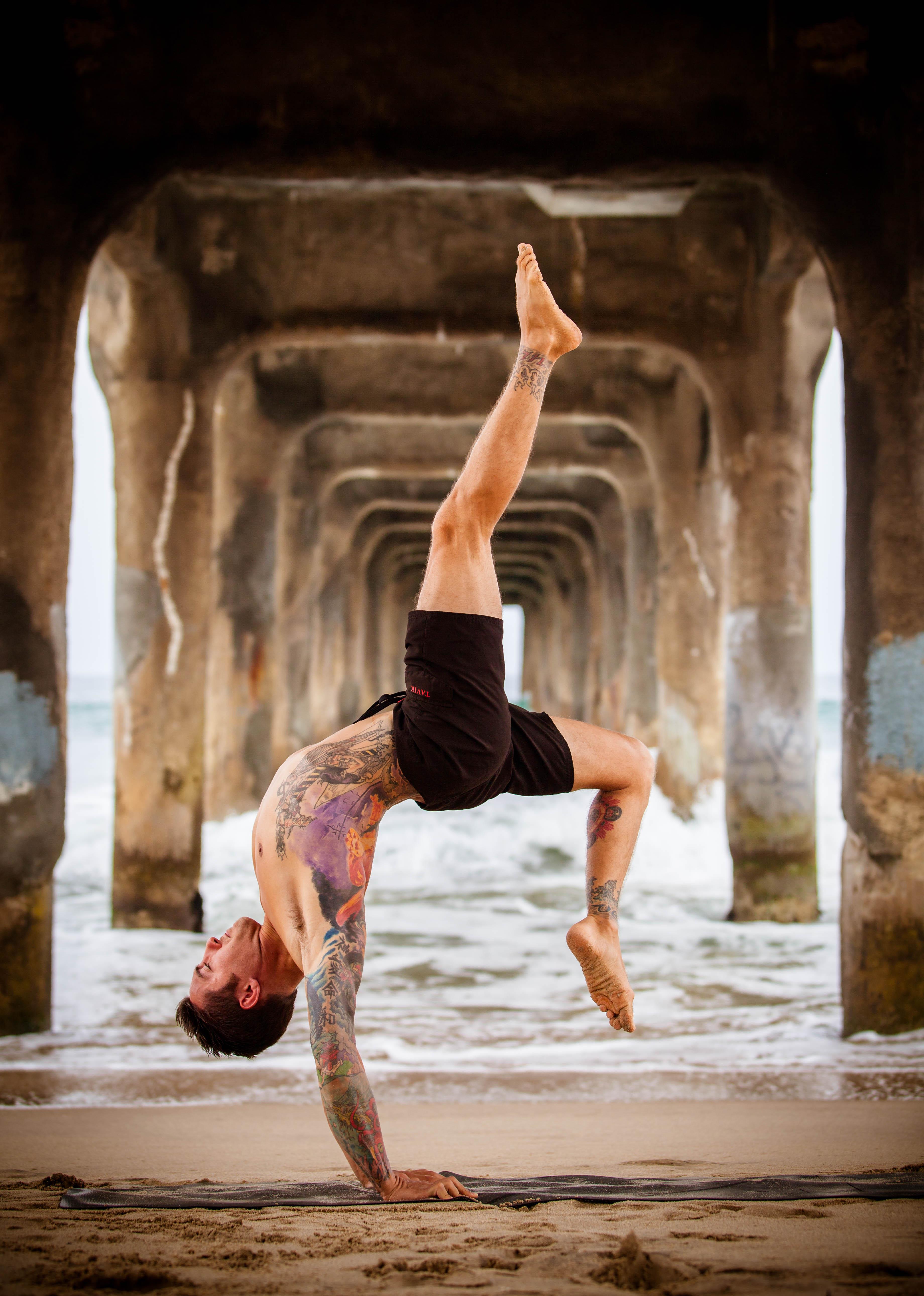yoga acrobat fitness dylan werner