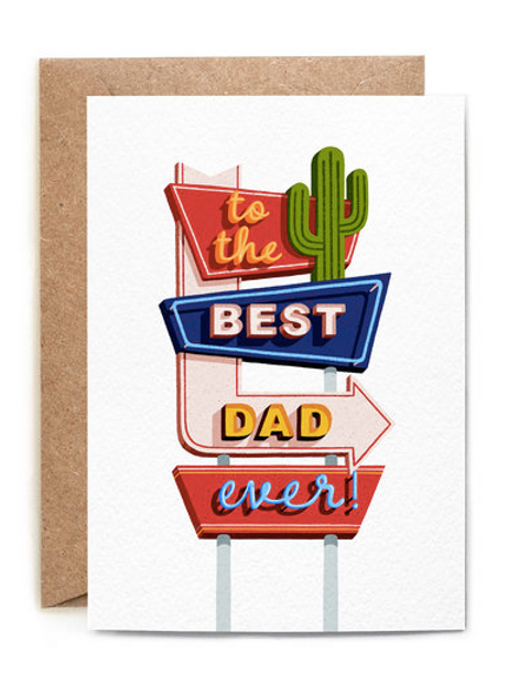 To the best Dad ever! Card
