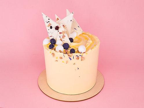 Lemon & Blueberry Celebration Cake