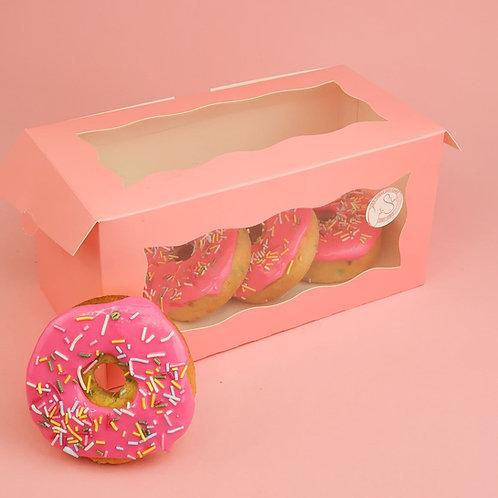 Funfetti Baked Doughnuts (Box of 4)