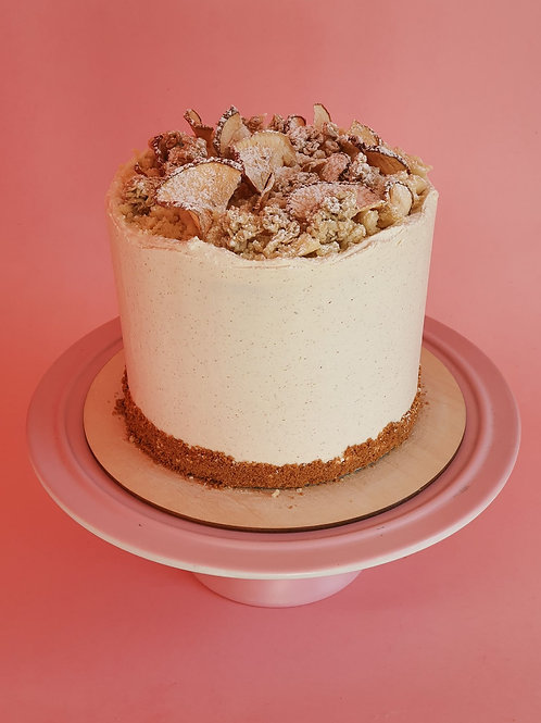 Apple Crumble Celebration Cake