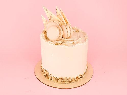 Coffee & Walnut Celebration Cake