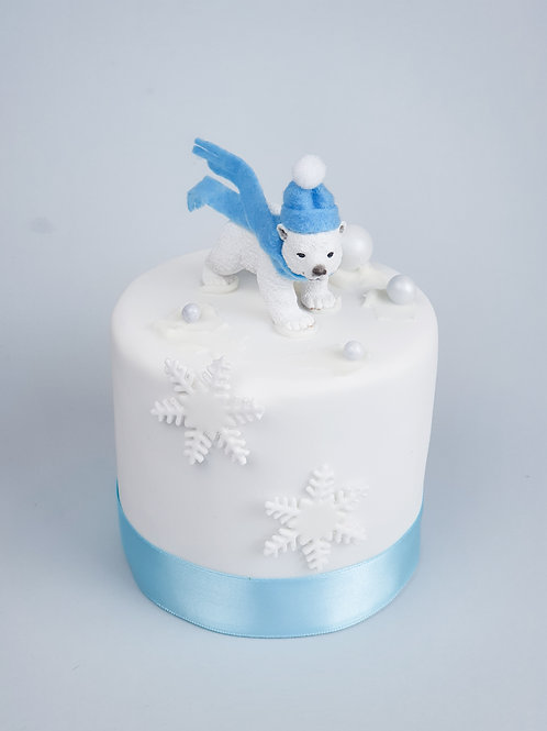 Traditional Buttered Rum Christmas Cake