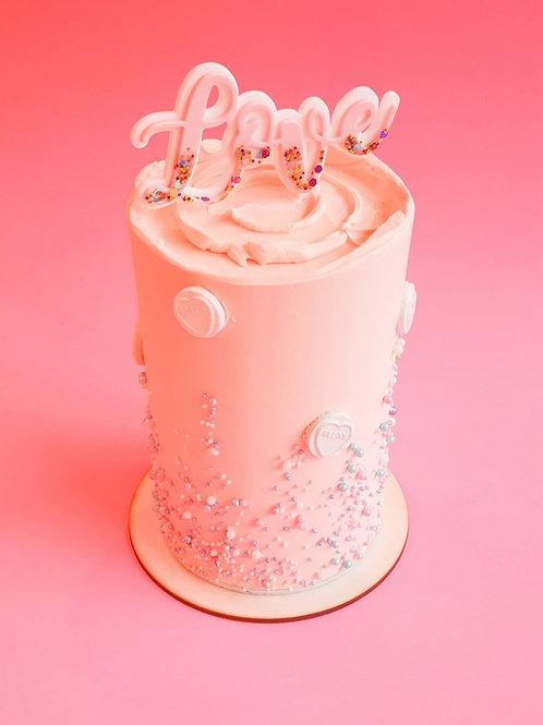 Mini Valentines Celebration Cake