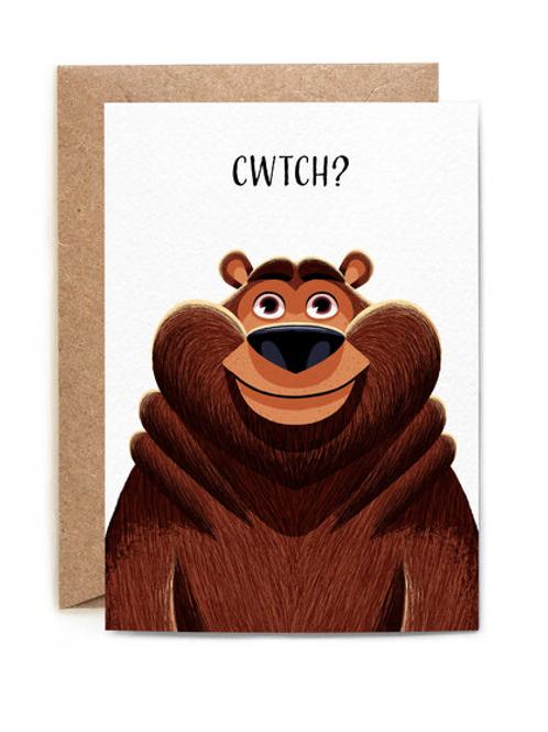 """copy of """"CWTCH?"""" Card"""