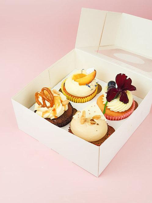 Cupcakes (Box of 4)