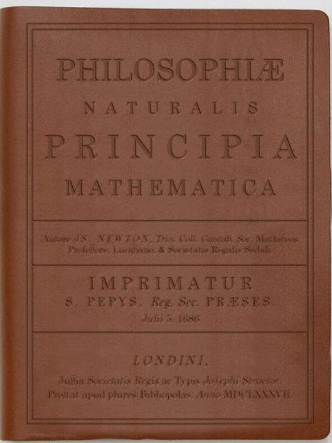 Principia by Newton