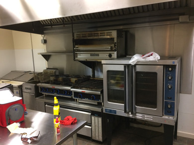 Commercial kitchen at the Ed Center