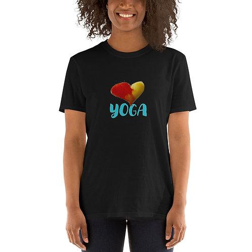 Short-Sleeve Love Yoga Unisex T-Shirt