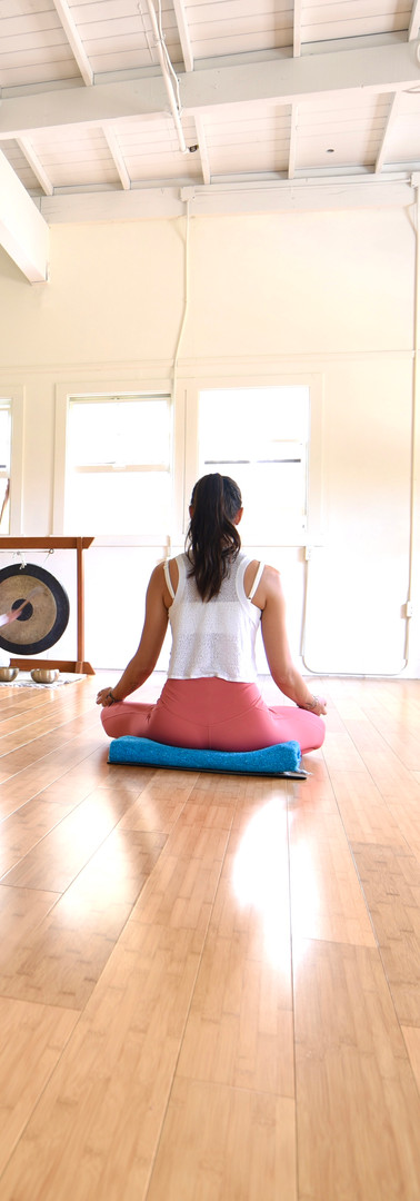 Yoga helps with stress