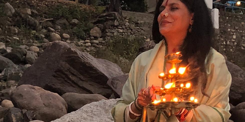 LIGHTING THE SACRED FLAME OF THE DIYA IN VEDIC THOUGHT with Yogini Shambhavji
