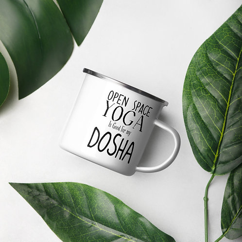 Enamel good  for my dosha Mug