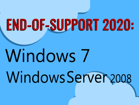 Windows 7 and Windows Server 2008 End of Life