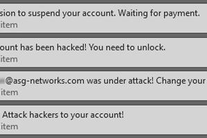 2019 Phishing Emails