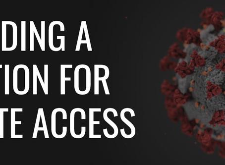 Update on Remote Access & Coronavirus