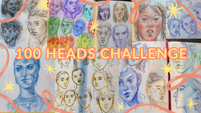 [VIDEO] 🖋drawing 100 heads in 10 days! | 100 Heads Challenge