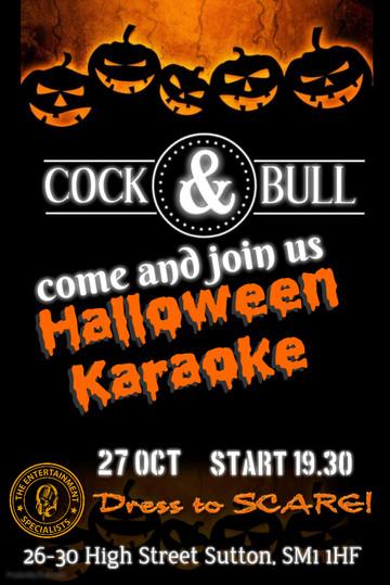 Cock and Bull Halloween