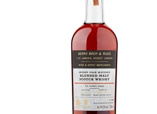 "The Range Classic ""Sherry Cask"" - Berry Bros & Rudd"