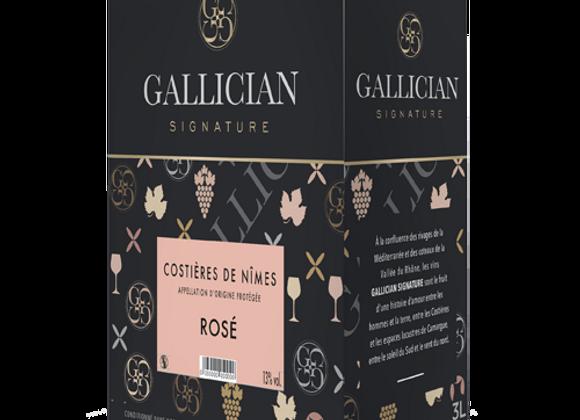 AOP Costières de Nîmes 10L Rosé - Gallician