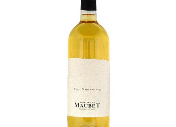 IGP Côtes de Gascogne Petit Manseng Domaine Maubet