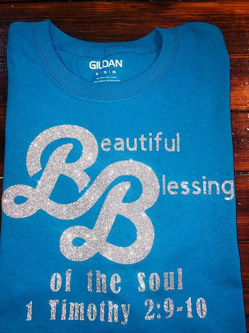 Beautiful Blessings Light BlueT-shirt