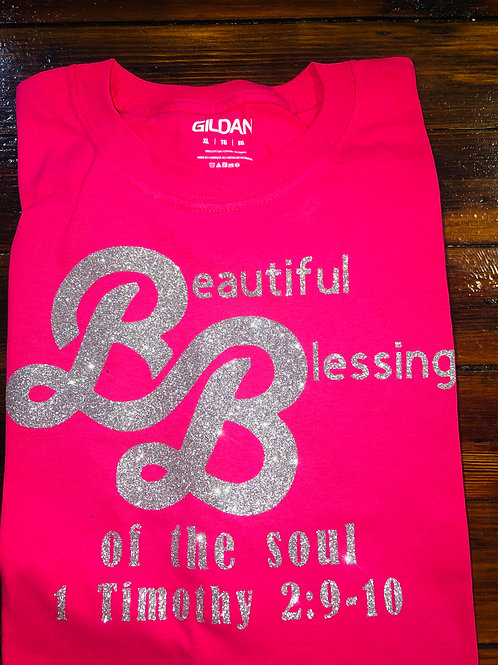 Beautiful Blessings Pink T-shirt