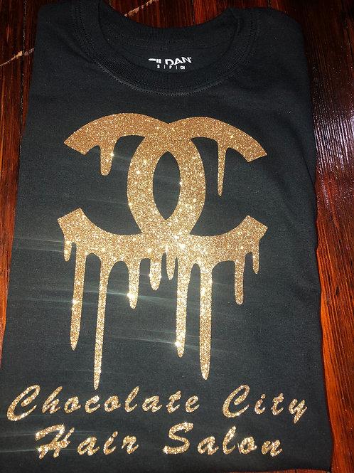 Black & Gold CC Chocolate City T-shirt