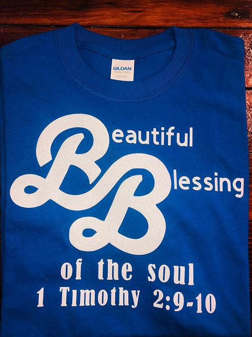 Beautiful Blessings Blue T-shirt