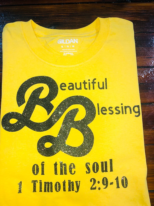 Beautiful Blessings YellowT-shirt