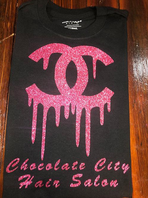 Black & Pink CC Chocolate City T-shirt