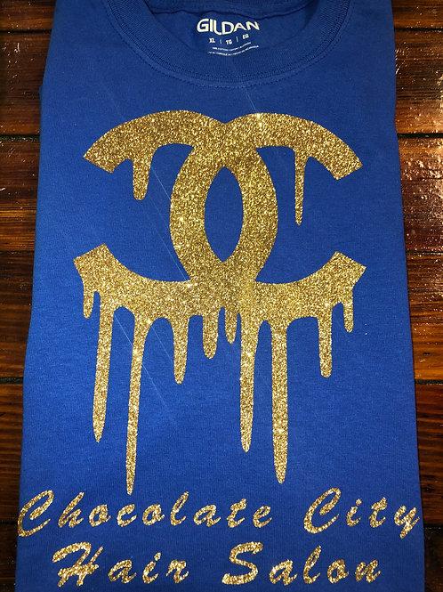 Blue & Gold CC Chocolate City T-shirt