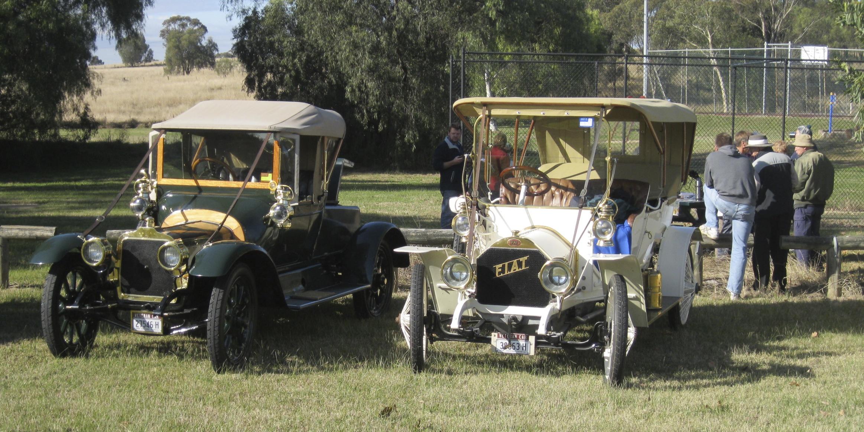 1913 Talbot & 1908 F.I.A.T.