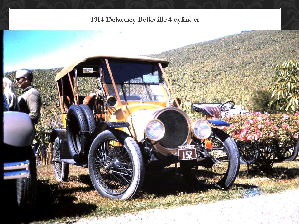 1914 Delauney belleville 4 cylinder