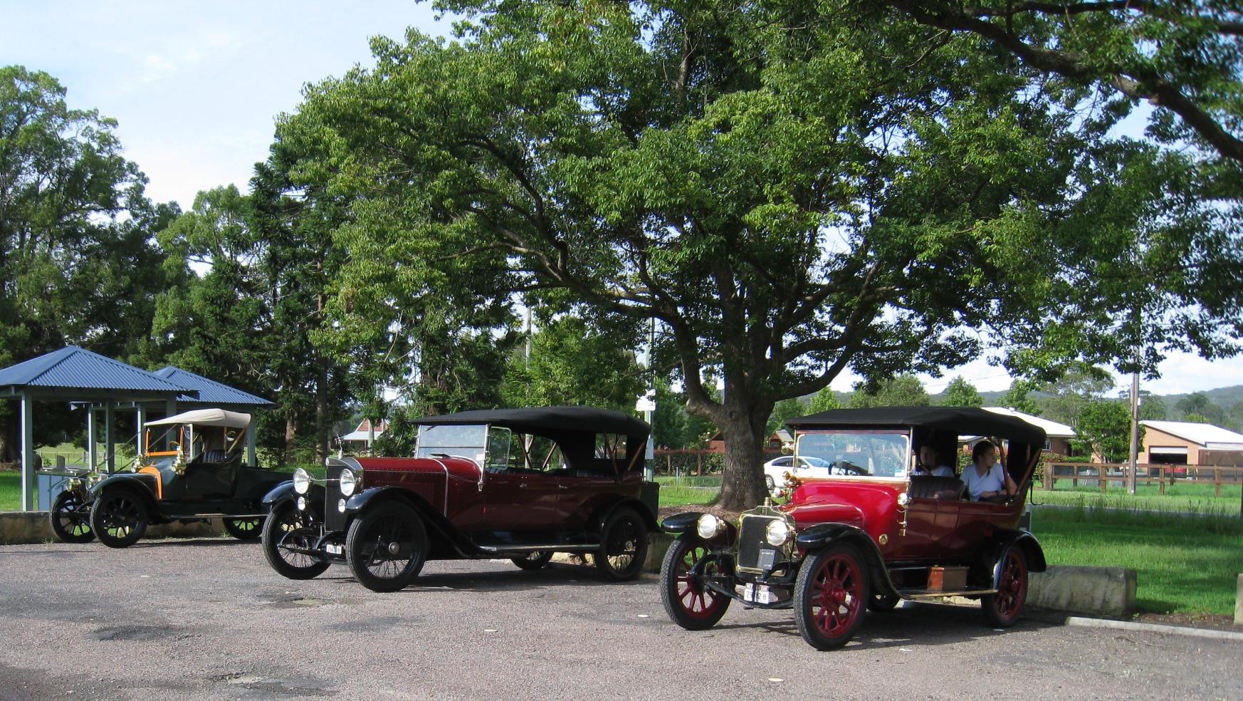 1913 Talbot, 1916 Benz & 1914 Talbot