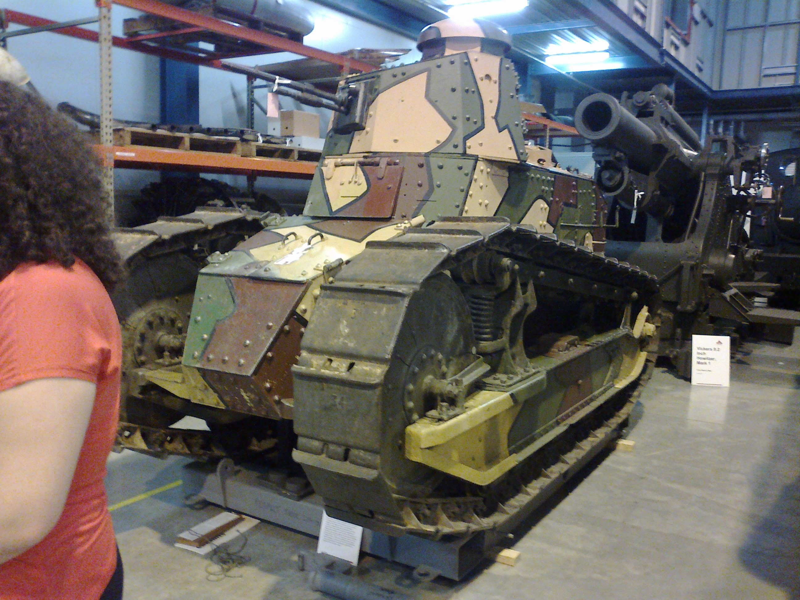 WWI Renault Tank