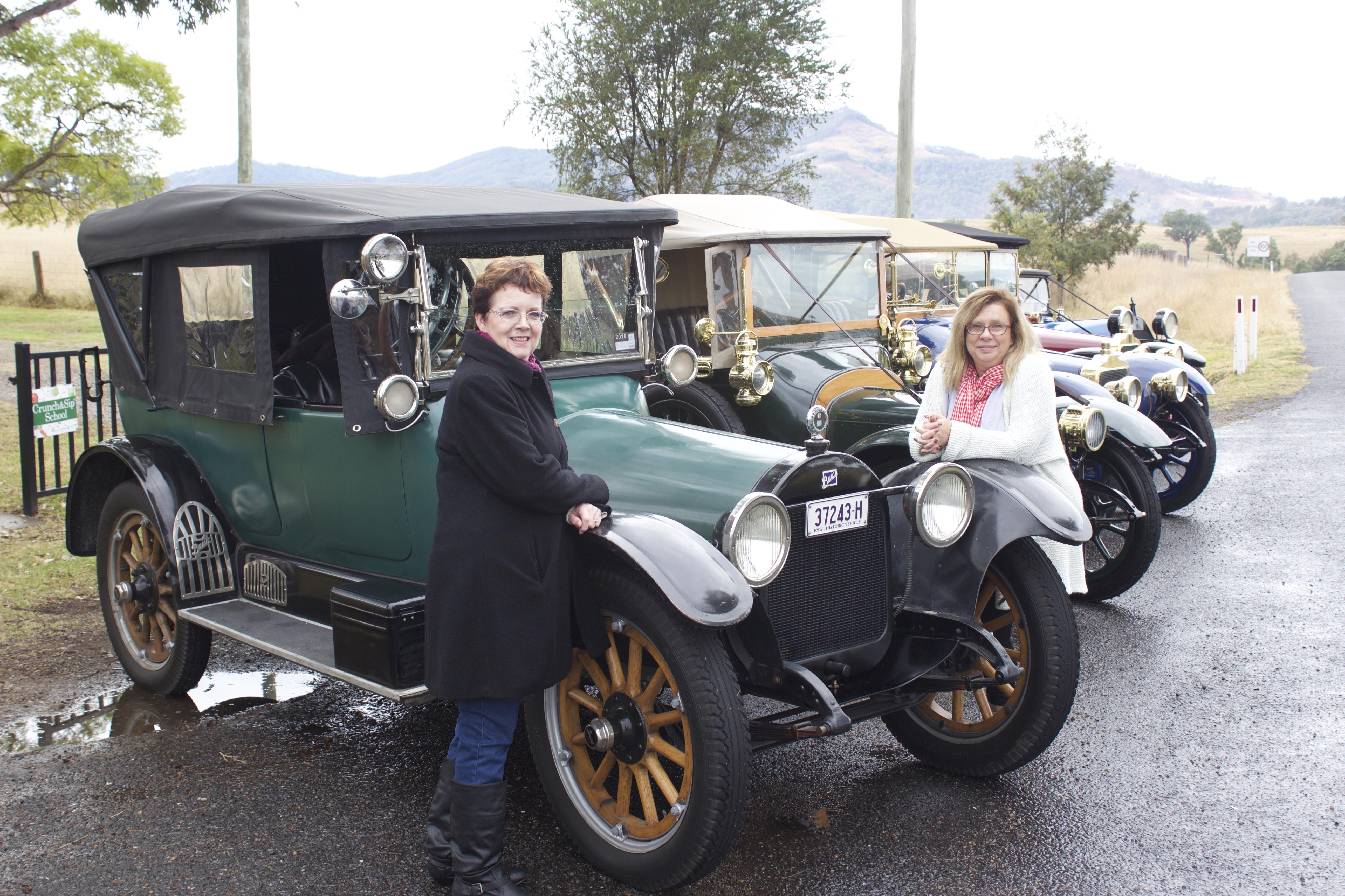 Kelly, 1916 Buick, Karyn