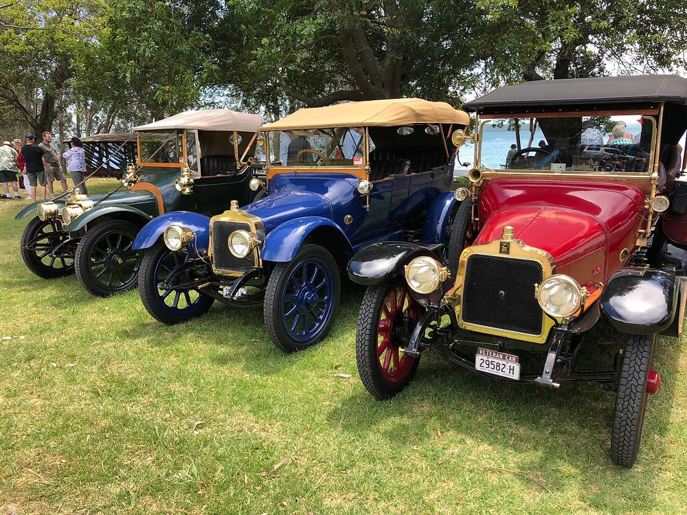 1913 & 2 x 1914 Talbots