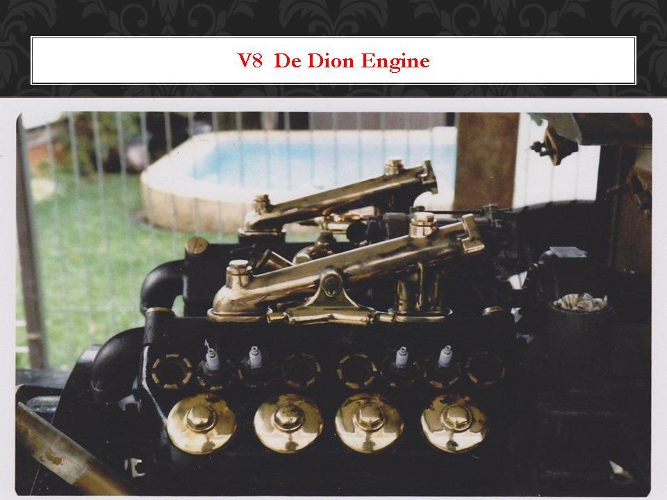 V8 De Dion Engine