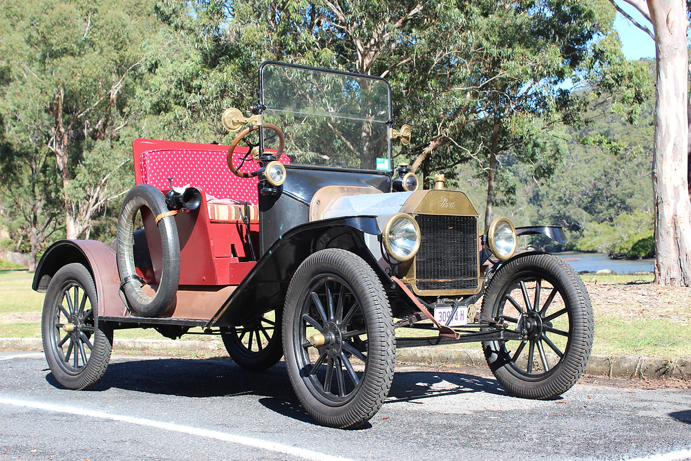 1915 Ford - made in Canada - under restoration