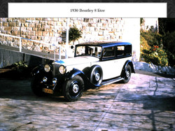 1930 8 litre Bentley