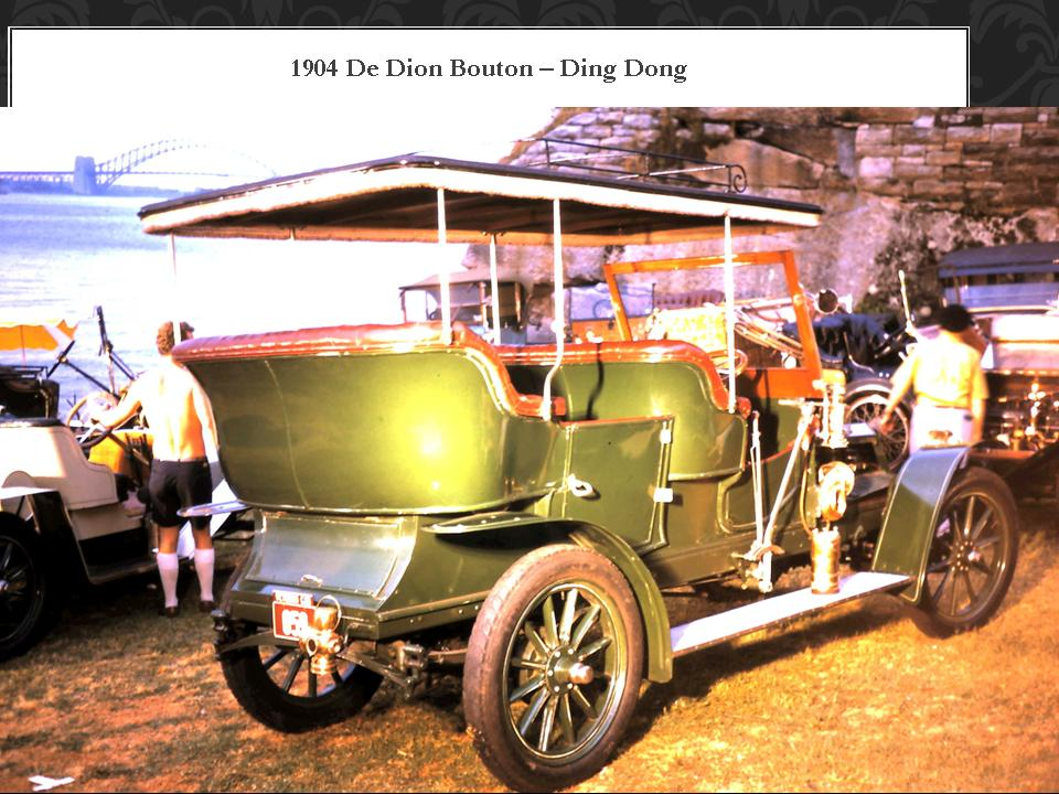 1904 De Dion Bouton Ding Dong
