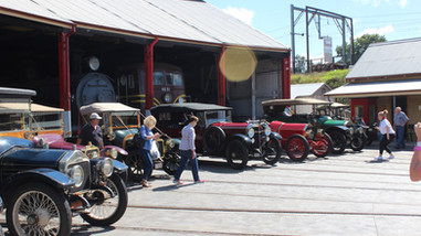 Valley Heights Rail Museum Roundhouse