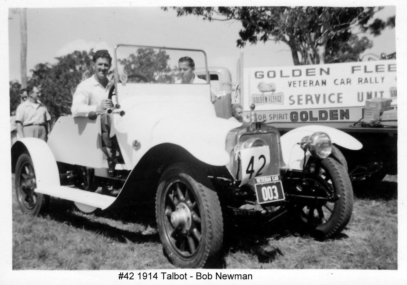 1914 Talbot 4CBX
