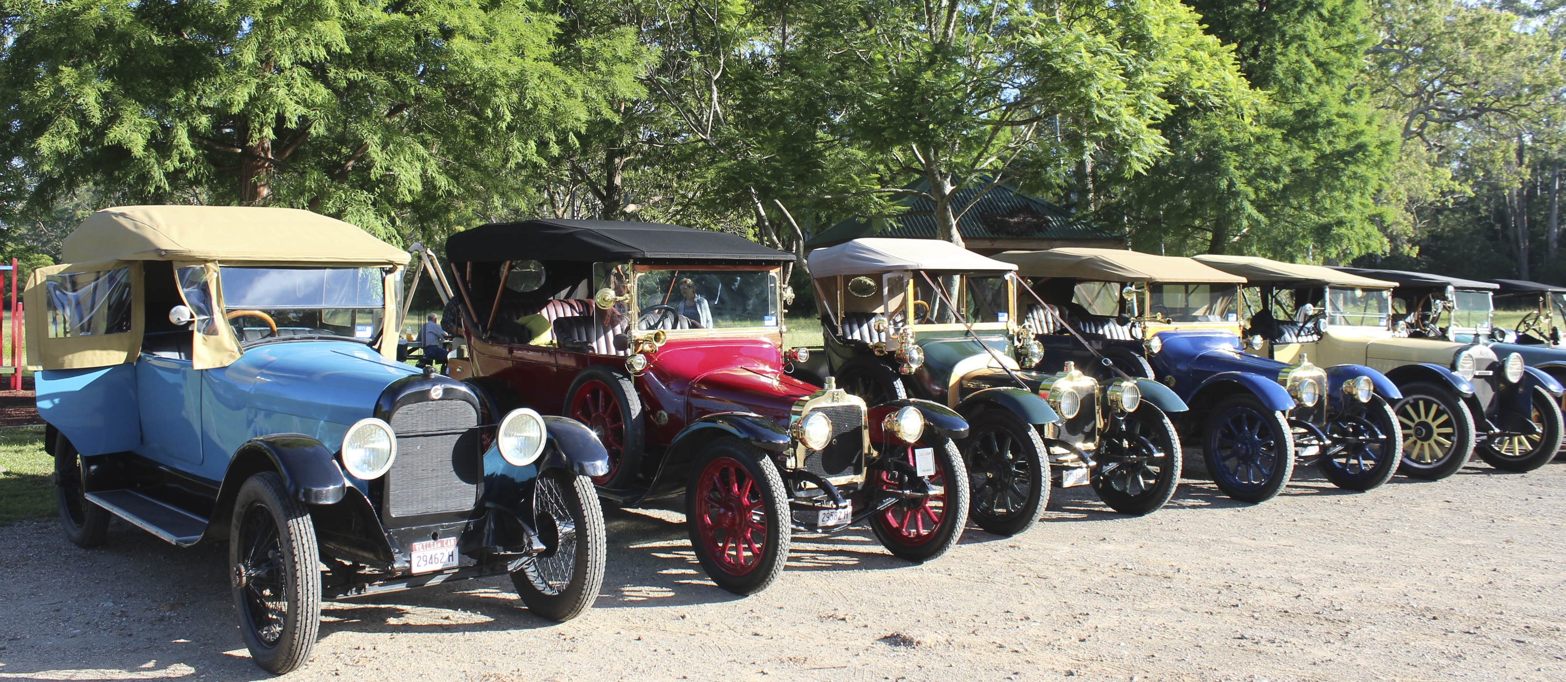 1918 Studebaker, Talbot x 3