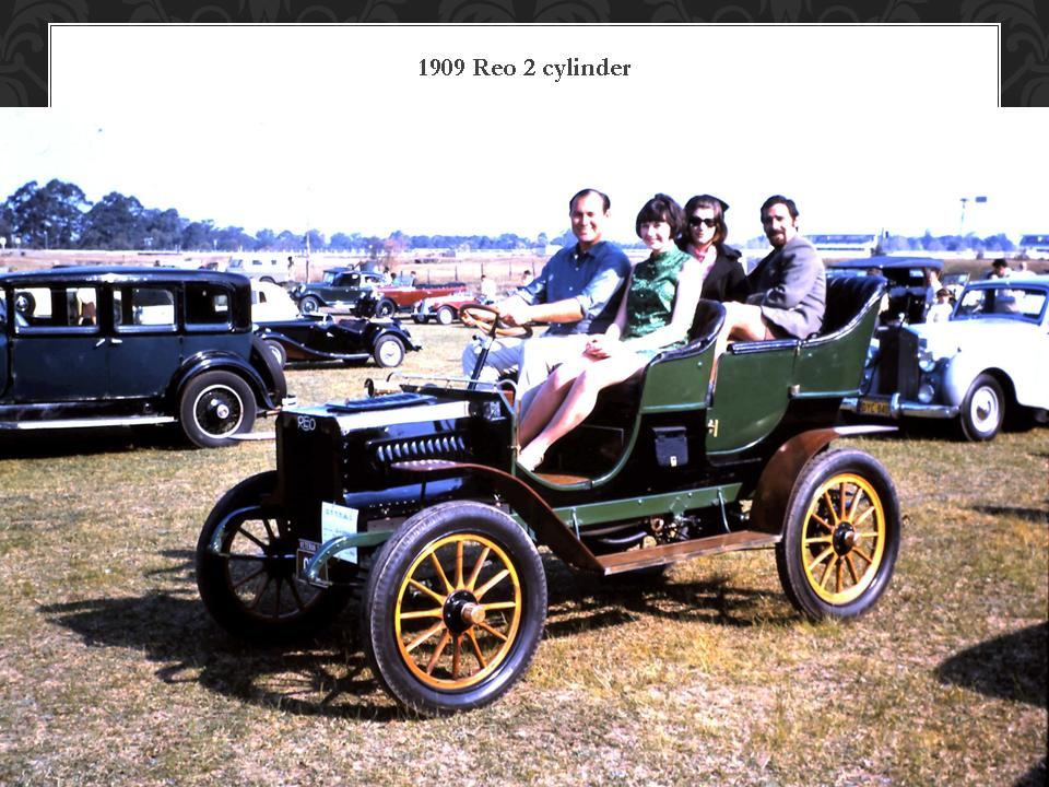 1909 Reo 2 Cylider