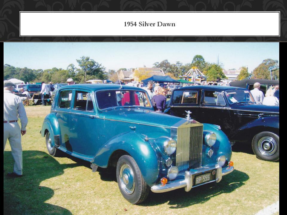 1954 Silver Dawn