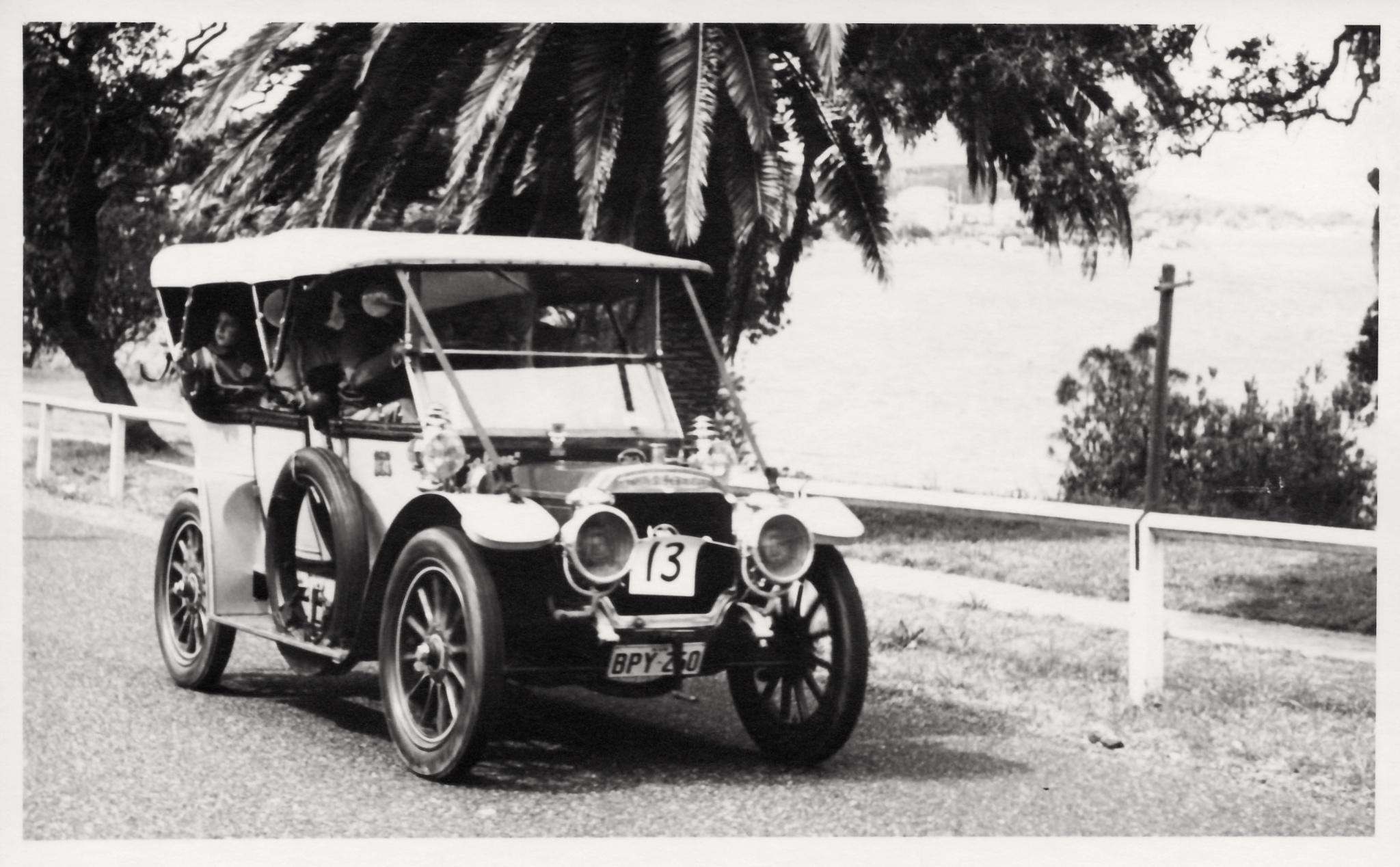 #13 1908 Panhard Levassor